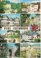 Luxemburgo--Lestrois Tours-Trois Glands-Stierchen-ciutadel Le St.Espirit,etc - Postales