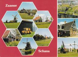 Holanda-Zaanse-Schans - Molinos De Viento