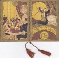 """CALENDARIETTO   """"ORE ELEGANTI""""  1936 CHARME MODA GIOCO CARTE  -2 -0882-17546-547 - Calendars"""