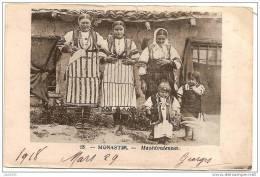 MONASTIR ..-- SERBIE ..-- Macédoniennes . 1918 Vers France . Voir Texte Militaire Verso . - Serbie