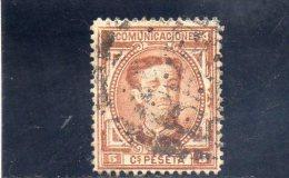 ESPAGNE 1876 O - 1875-1882 Regno: Alfonso XII