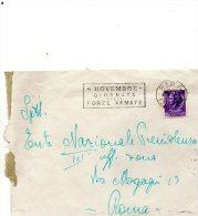 1955 LETTERA    CON ANNULLO PISA   + TARGHETTA - 1946-60: Marcophilie