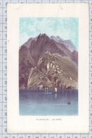 The Goblins Cave - Loch Katrine - Lithographies
