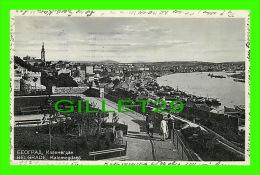 BELGRADE, SERBIE - BEOGRAD - KALEMEGDAN - ANIMÉE  - CIRCULÉE EN 1935 - - Serbie