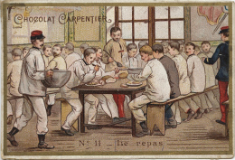 CHOCOLAT CARPENTIER - N°11- Le Repas - Unclassified
