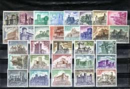 ESPAÑA-Series De Castillos Completas -Nuevos Sin Señal De Charnela (según Foto) - España