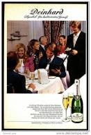 Reklame Werbeanzeige  -  Sekt Deinhard Lila  ,  Symbol Für Kultivierten Genuß  ,  Von 1973 - Andere Sammlungen