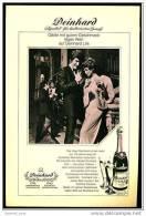 Reklame Werbeanzeige  -  Sekt Deinhard Lila  ,  Gäste Mit Gutem Geschmack Legen Wert  ,  Von 1971 - Andere Sammlungen