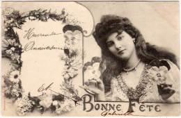 Femme - Bonne Fete     (58960) - Bergeret