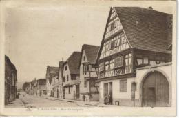 CPSM ROSHEIM (Bas Rhin) - Rue Principale - France