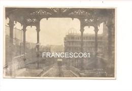 $3-3265 LIGURIA GENOVA FUNICOLARE 1904 VIAGGIATA Fotografica Abrasioni - Genova