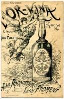 PARTITION  -  HYMNE BACHIQUE  -  L' OR-KINA  -  A MICHEL SABATIER A CARCASSONNE - Partitions Musicales Anciennes