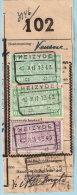 Spoorwegfragment, Afst. HEIZYDE 16/12/1943 -- Heizijde (lijn Jette - Dendermonde) - 1942-1951