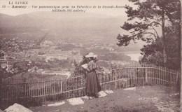ANNECY - Vue Panoramique Prise Du Belvédère De La Grande- Jeanne  - - Annecy