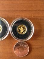 Iles Cook  2009 Helios Dieu Du Soleil   Or Gold 0.999 Poids 0.5g Proof - Cook Islands