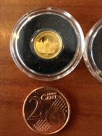 Samoa 2009 Basilique Saint Marc Italie Venise   or Gold 0.999 poids 0.5g Proof