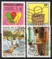 CAMEROUN  N° LOT__ OBL  VOIR SCAN - Kamerun (1960-...)