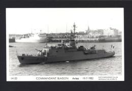 CPM Navire COMMANDANT BLAISON Aviso 1982 Photo Marius Bar Toulon / Carte Photo Marine Nationale - Réf 2595 - Warships
