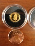 Nauru 2008 Frans Kafka Ecrivain  Or Gold 0.999 Poids 0.5g Proof - Nauru