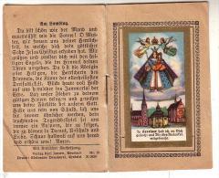 Livret 8 Pages écrit En Allemand - Prières - In Kevelaer Hab Ich An Dich Gedacht Dir Dies Andenten Mitgebracht - Image - Devotion Images