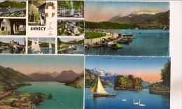 13 / 8 / 55  -   11  CPA  &  CPSM  D´ ANNECY  - TTS  SCANNÉES - Cartoline