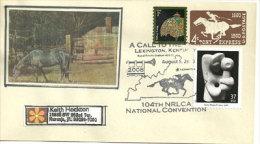 USA. Rural Letter Carriers,distribution Du Courrier Dans Les Fermes Du Kentucky. Enveloppe Souvenir , Entier Postal - Postal Stationery