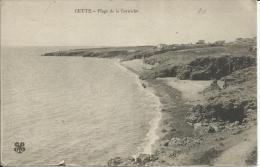 CETTE, PLAGE DE LA CORNICHE (1915) Adressée Au CAPITAINE ALBERT MORIS (téméraire Aviateur De La 1er G.M) 2 SCANS - Sete (Cette)