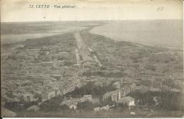 CETTE, VUE GENERALE, Nº73 - Sete (Cette)