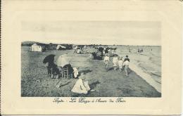 AGDE, LA PLAGE À L'HEURE DU BAIN - Agde