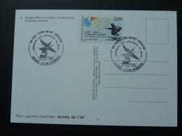 Carte Maximum  (maximum Card) Base Aérienne 942 Dassault Mirage 2000 Lyon Armées - Militaria