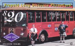 Prepaidcard Prepaid Long Distance 20 $ Canada Buscar - Altri – America