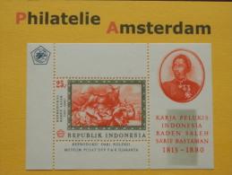 Indonesia 1967, RADEN SALEH: Mi 590, Bl. 8, **