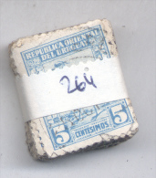 URUGUAY YVERT NR. 264  PAQUETE X 100 OBLITERADO - TERO - TERU - TERU - Uruguay