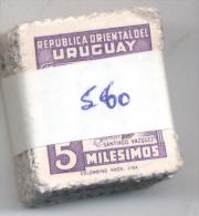 URUGUAY YVERT NR. 560  PAQUETE X 100 OBLITERADO - SANTIAGO VAZQUEZ - Uruguay