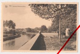 PostCard - Ath - Dendre Et Monument Bliki - Ca. 1940 - Photo: René Lefebre, Ath - Ath