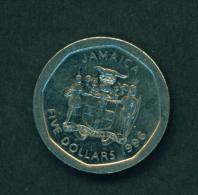 JAMAICA - 1996 $5 Circ. - Jamaica