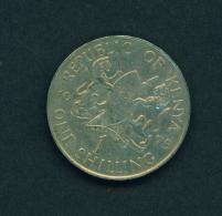 KENYA - 1975 1s Circ. - Kenya