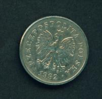 POLAND - 1992 50g Circ. - Poland