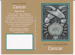 Calendrier De Poche Cancer - Année 2012 - Calendari