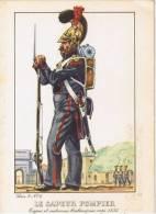Le Sapuer Pompier   1835 Serie  2 Nr 6 - Sapeurs-Pompiers