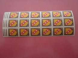 Bloc Timbres De France N° 757 Neuf ** MNH >armoiries De Province-Lorraine (provenant  Découpe De Feuille) - Unused Stamps