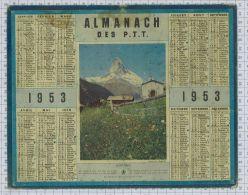 Almanach Des PTT De  1953 - Calendriers