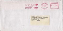 EMA Freistempel : Chambre De Commerce Et D'industrie De Charleroi 1992 - Marcofilia