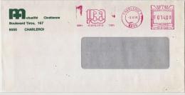 EMA Freistempel : Mutualité Chrétienne Charleroi Centennaire 1891-1991 - Enfermedades