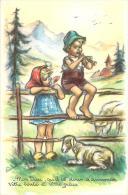 Germaine Bouret - Mon Dieu, Qu'il Est Doux D'annoncer Votre Bonté Et Votre Grâche (Berger, Religion, Agneau, Flute) - Bouret, Germaine