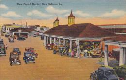 New French Market New Orleans Louisiana Curteich
