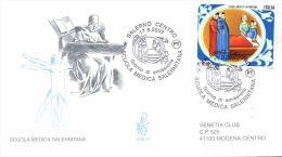 SVENDITA FDC VENETIA VG ITALIA 2007 -  1438/it SCUOLA MEDICA SALERNITANA   -50% Catalogo - 1946-.. Republiek
