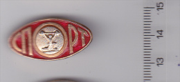 USSR Russia Old Sport Pin Badges - Weightlifting - Weightlifting