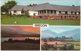 CPM - Multiview - Brecon - Mountain Centre - Llangorse Lake - Brecon Beacons - Breconshire
