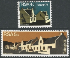 South Africa. 1974 Restoration Of Tulbagh. Used Complete Set - South Africa (1961-...)